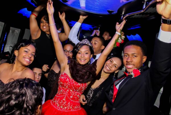 quinceanera party bus las vegas