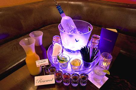 Las Vegas Nightclub Bottle Service